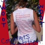2011 race tour t shirt